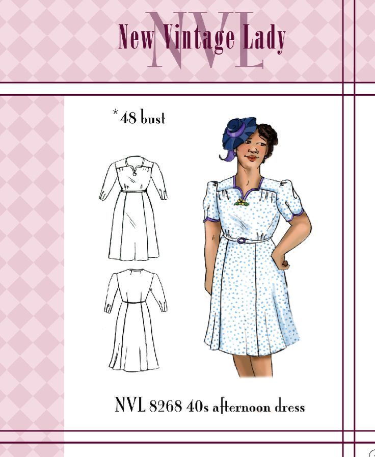 1940s Make and Mend Dress