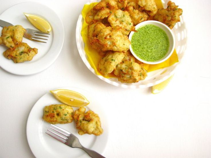 Tortillitas de bacalao o buñuelos