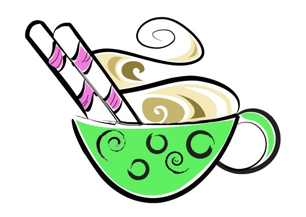 Cup of Hot Chocolate Vector Illustration