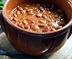 Texas-Style Beer Chili recipe ~ Yeah, it's got a lot of ingredients, but that's what makes it so good!