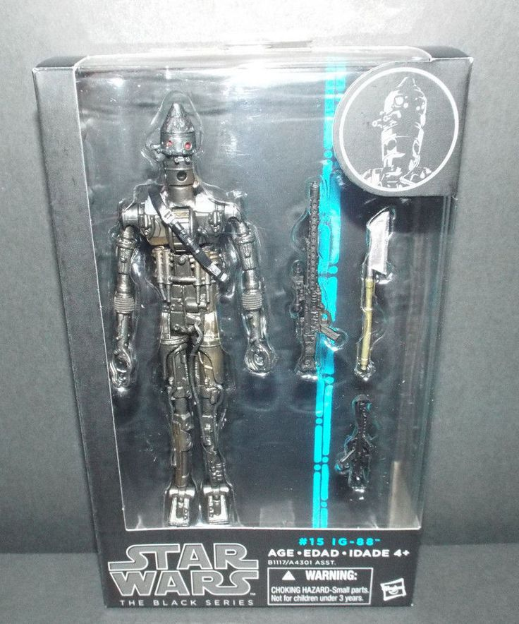 Star Wars Black Series IG-88 Figure NEW! #Hasbro