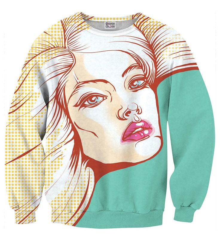 Pop Art sweater, Mr. GUGU & Miss GO