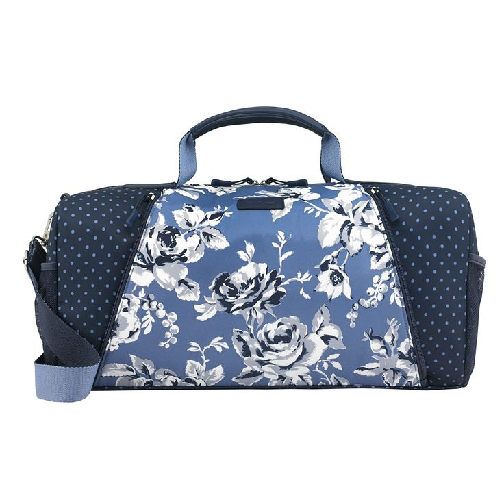 Etched Floral Leisure Holdall | View All | CathKidston