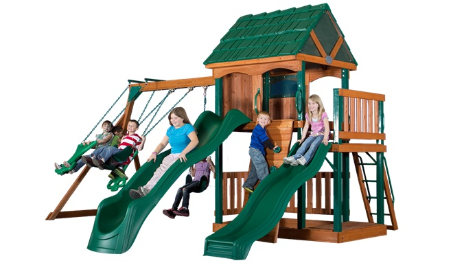 The bridge point swing set starts with our next generation for Swing set bridge