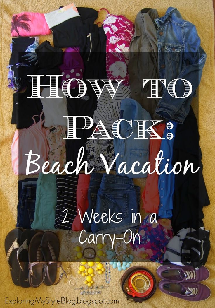 How to Pack 16 Days in a Carry On