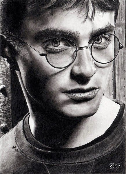Pencil Portrait Mastery - Pencil Artist Corinnes Portraits (French) | Daniel Radcliffe by Corinne - Discover The Secrets Of Drawing Realistic Pencil Portraits