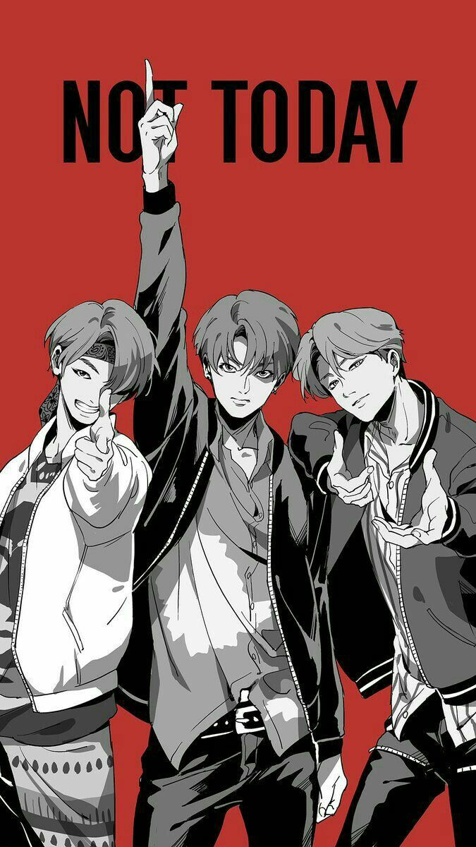 Ah Our Maknae Line Bts Fanart Fan Art Bts Drawings