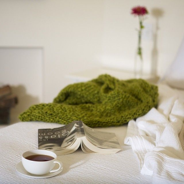A favourite book, a soft rug and a cup of locally hand blended tea - just another long and lazy afternoon at 'home' for the weekend at Maggie's Orchard House. Have you booked yet?.