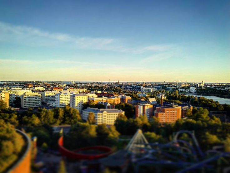 View of Helsinki from Linnanmäki   #helsinki #finland #linnanmäki #linnanmaki #helsinkitravel #travel #architecture #sea #europe #sunset #sunsets #picoftheday #pictures #photos #visithelsinki #myhelsinki #igtravel #tervetuloa # #suomi #visitfinland #visitscandinavia #igersfinland #photoofday #photooftheday #city