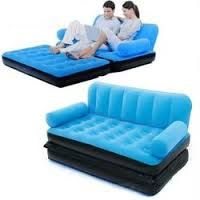 Multi-Max Inflatable Couch/chair. It is Multifunctional which can  be used as a couch or double bed