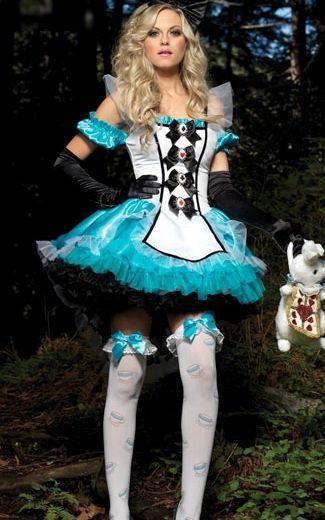 17,25€  8F1285 luxo fantasia Alice Costume, Compro Qualidade Sexy Costumes diretamente de fornecedores da China: novo carta do tamanho:nota:  1. um tamanho que ajuste normal sml xl pessoas. antes da ordem, pls contato con
