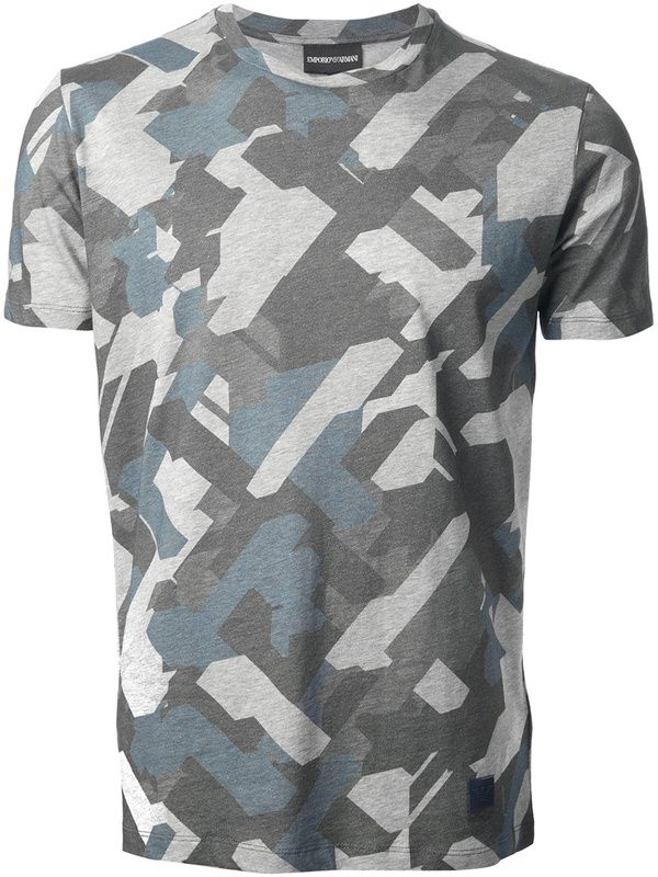 T-Shirt by Emporio #Armani #camouflage