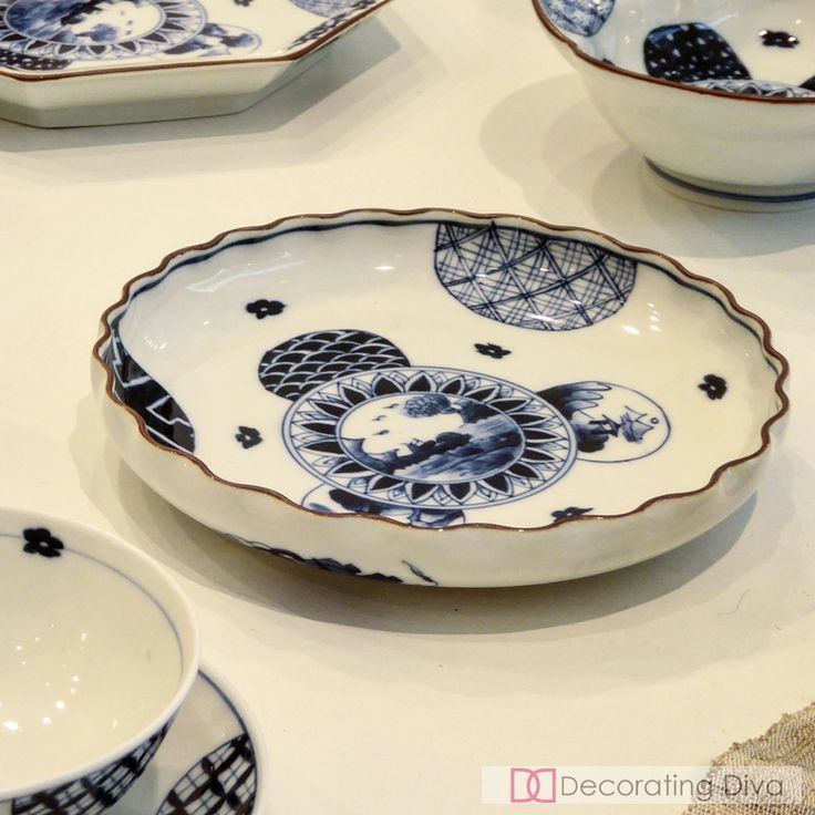 Traditional Japanese pottery and ceramics dinnerware collections. | The Decorating Diva, LLC