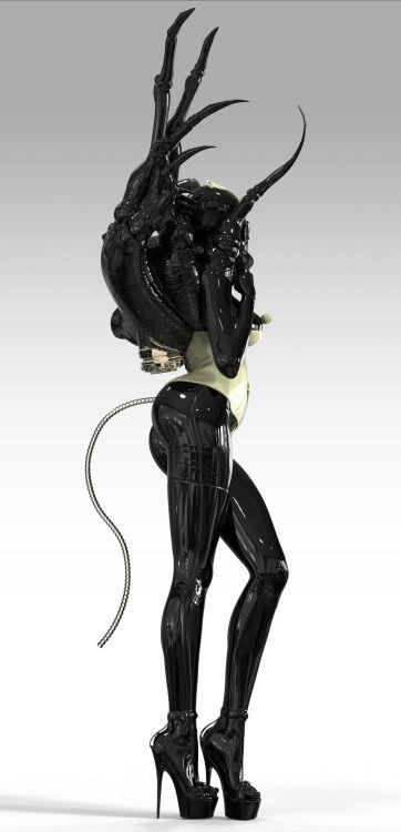 ArtStation - Fetish costume #1, John Mahoney