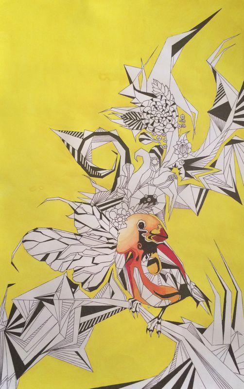 Artwork - Poly Rose