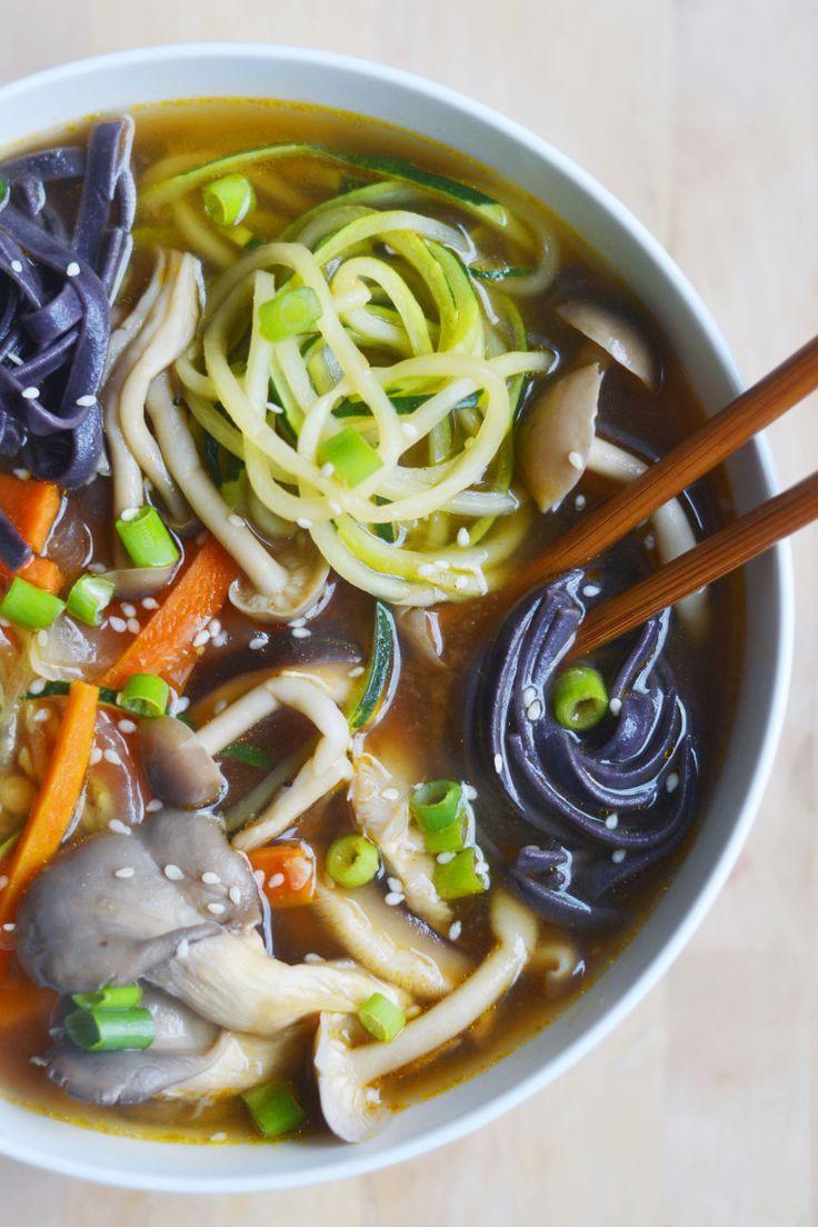 Easy Veggie Ramen Vegan Gluten Free