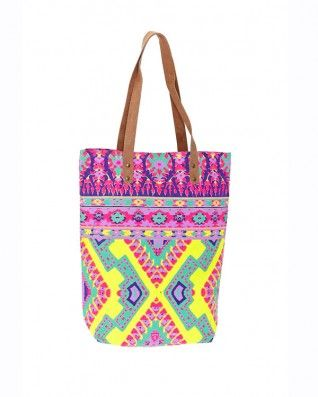 Dreams in Colour Toucan Rouge Beach Tote Candy Lime - Accessories - Birdmotel Online Store