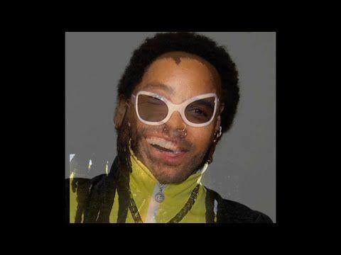 This Lenny Kravitz Lyric Video is Wonderfully Weird