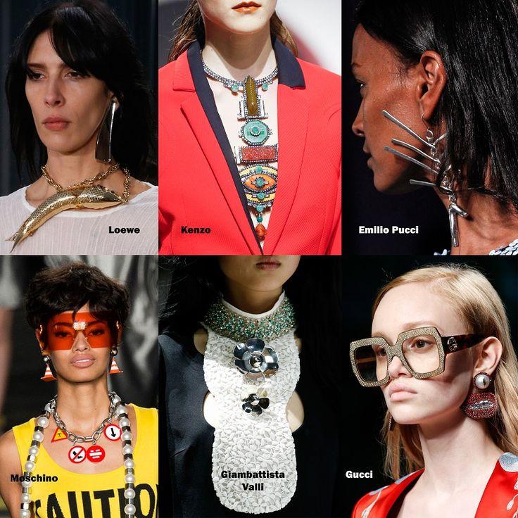 Jewelry trends Spring 2016 - Curiosities / Ékszer divat 2016 tavasz - Valódi különlegességek
