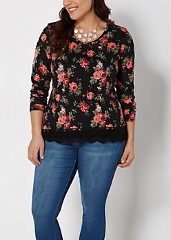 Junior Plus Size Dressy Tops | Shirts & Blouses | rue21 size 1X - $16.99