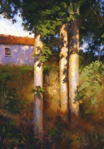 'Wellfleet Trees' by Jennifer McChristian