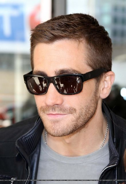 Jake Gyllenhaal, 2010 - Outside The CBC Building In Toronto