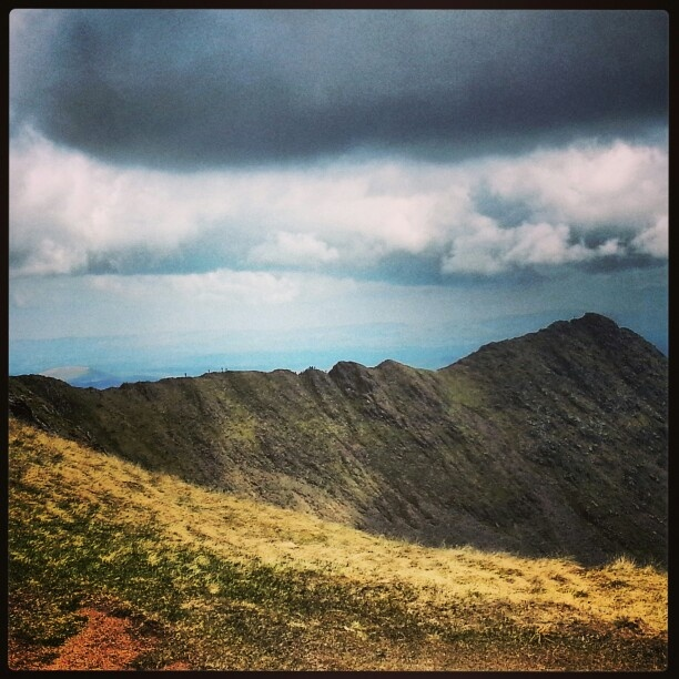 Striding Edge at Helvellyn