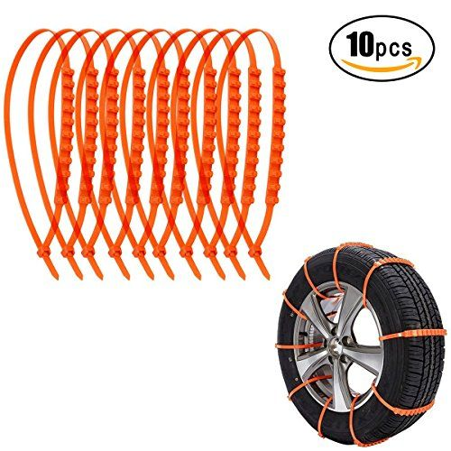 Kyerivs Anti-Skid Car Cable Tire Anti-Skid Emergency Traction Mud Snow Chains for SUV Car Van Flexible Nylon Tire for Winter Driving, 10 PCS. For product info go to:  https://www.caraccessoriesonlinemarket.com/kyerivs-anti-skid-car-cable-tire-anti-skid-emergency-traction-mud-snow-chains-for-suv-car-van-flexible-nylon-tire-for-winter-driving-10-pcs/