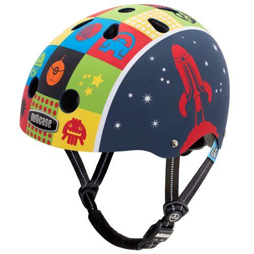 Nutcase Helmet - Little Nutty Space Cadet Matte Generation 3