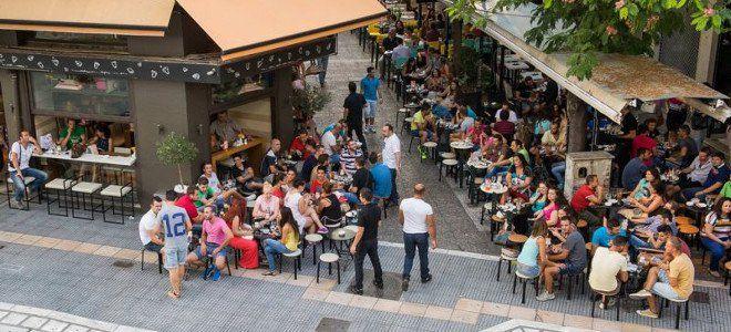 Larissa-greek city of coffee