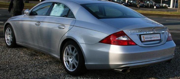CLS-Class (C219) Mercedes price - http://autotras.com