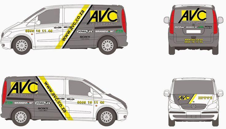 AVC Fleet Vehicle Signage