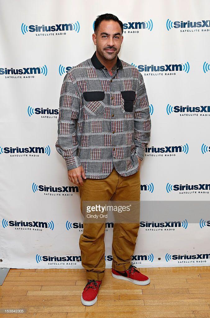 Tattoo artist Chris Nunez visits the SiriusXM Studio on October 9, 2012 in New York City.