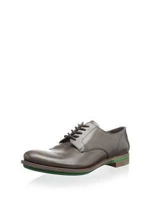 44% OFF Prada Men's Plain Toe Oxford (Grey/Green)