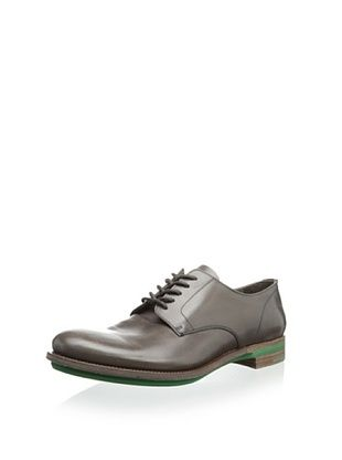 44% OFF Prada Men's Plain Toe Oxford (Grey/Green)