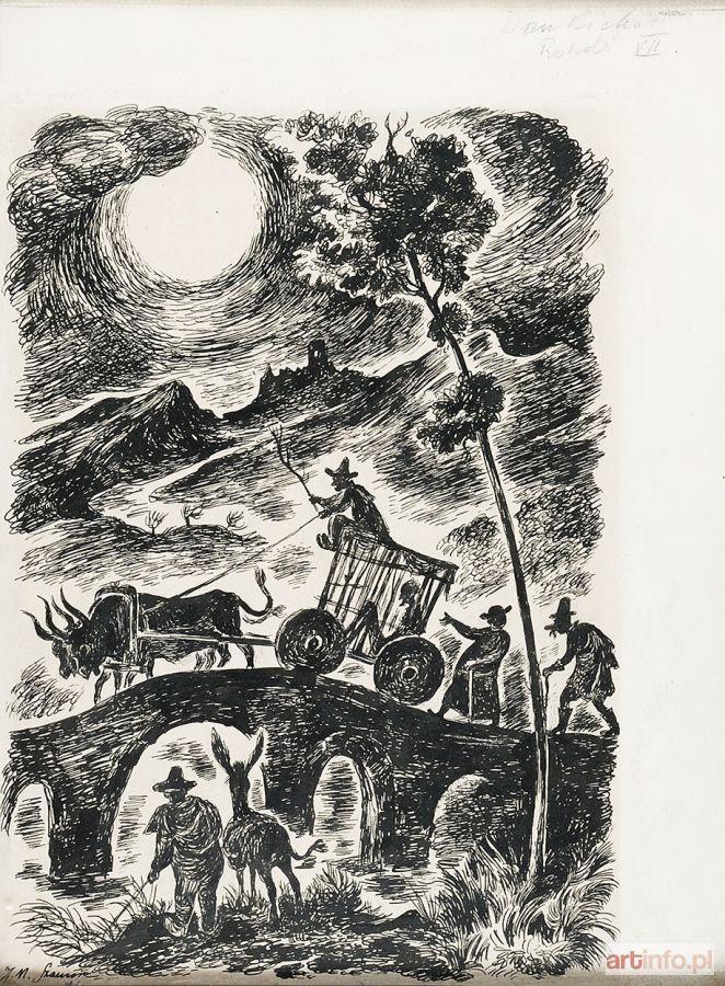 Jan Marcin SZANCER ● Ilustracja do Don Kichota, 1946