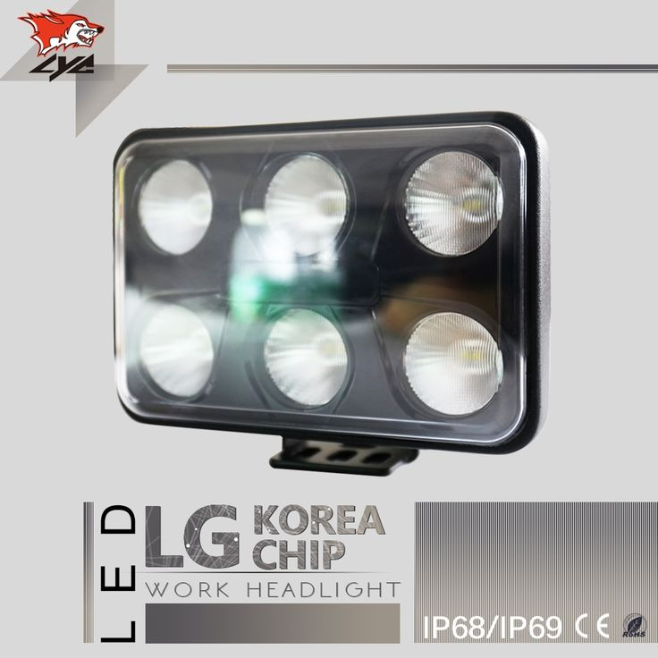 49.25$  Watch now - http://alik8m.shopchina.info/go.php?t=32782002604 - 1 PCS LYC Top Grade Led Work Light Led Offroad Lights Spotlights for Jeep Wrangler Led Lamps for Cars 3000K/6000K   #buymethat