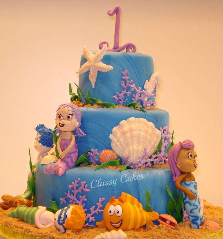 Edible Cake Images Dunedin : 182 best images about Cakes - Bubble Guppies on Pinterest