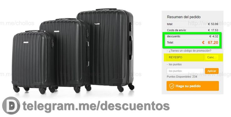 Set de 3 maletas rígidas por tan solo 67 - http://ift.tt/2ffqSwA