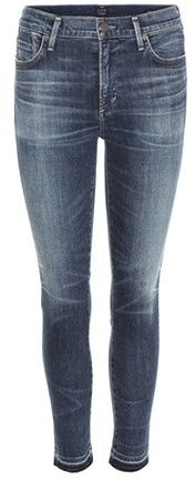 Citizens of Humanity Jean Skinny Raccourci Taille Haute Rocket