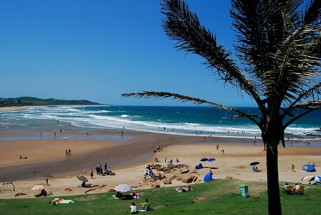 Scottburgh, KwaZulu-Natal, South Africa  (lived here as a child and as a family returned twice a year for a holiday)