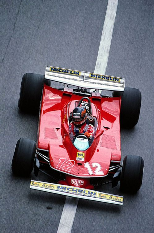 Gilles Villeneuve Ferrari 1979