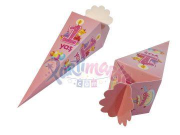 1 Yaş Doğum Günü Şeker Kutusu