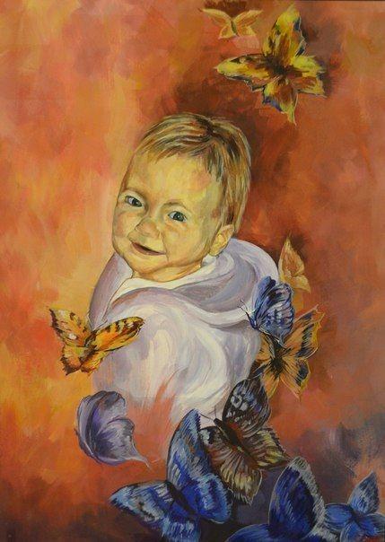 Baby, portraits