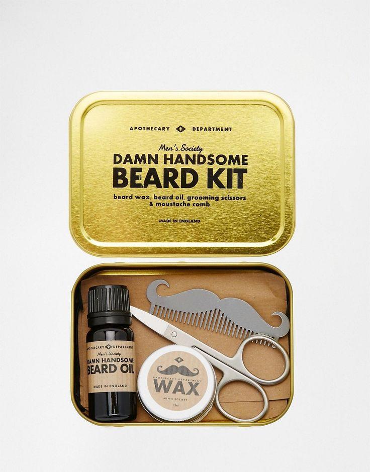 Image 1 ofMen's Society Beard Grooming Kit