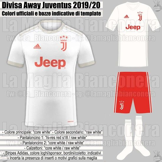 Juventus Away 2019 | Uniformes