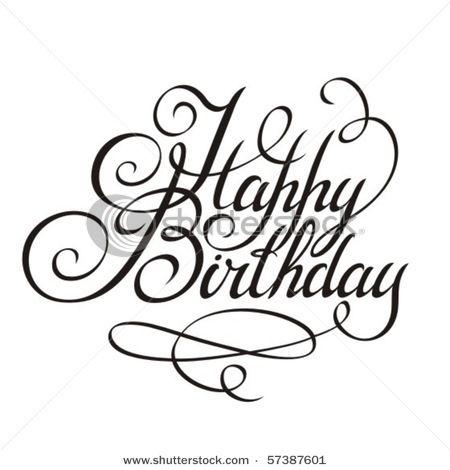 Best 25+ Happy birthday font ideas on Pinterest