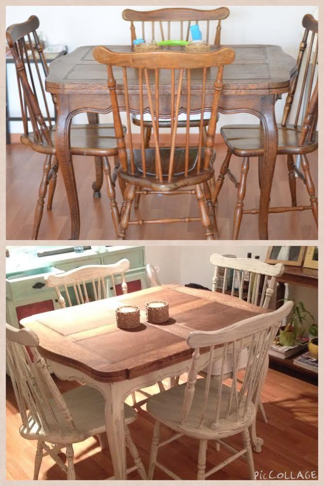 Decapados sobre muebles ( Antes y Después)