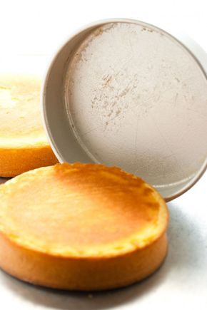 """""""Secret"""" for getting your cake to fall perfectly out of the pan. DIY miracle pan goo."""