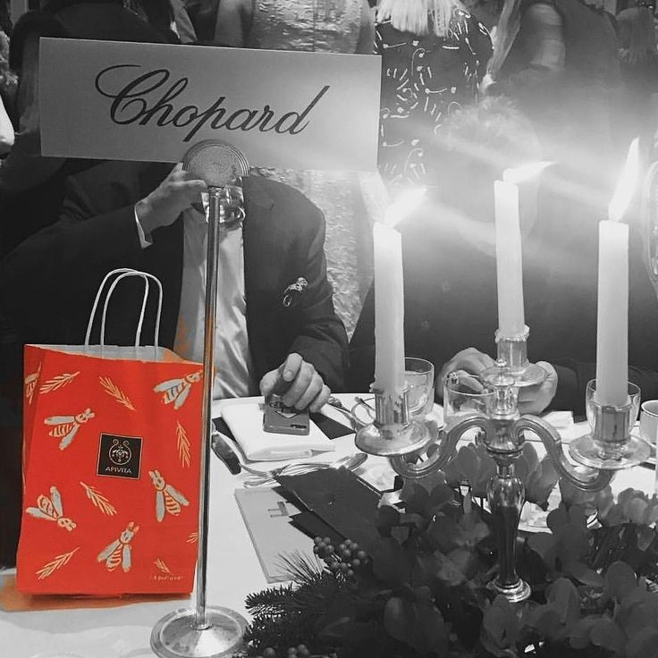 Our retail Packaging design for APIVITA at the Christmas fashion tea event